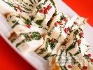 Рецепта Терин от бяла риба със спанак